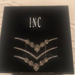 New with box crystal cuff bracelet. Never worn!